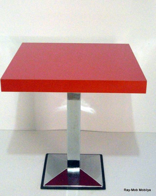 Tüm ölçülerde kafeterya masası modelleri ile hizmetinizdeyiz