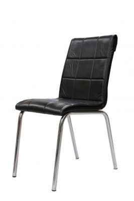 petli sandalye siyah